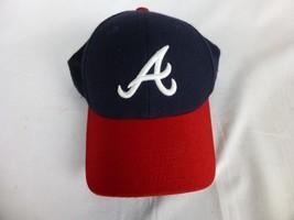 Red & Navy Nike Atlanta Braves MLB Baseball One size fits All - Baseball Hat - $19.00