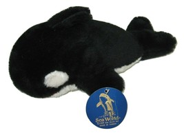"""Sea World's Shamu Whale Plush Toy 10"""" Collectible from 1989 with tags - $16.70"""
