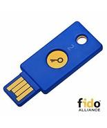 Yubico security key - U2F / FIDO2, USB-A, 2-step authentication - $70.12