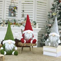 Handmade Stuffed Toy Christmas Decoration Xmas Tree Hanging Ornament Claus  - $7.00