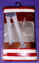 Tights / leggings (Stripped red & white) - $4.25