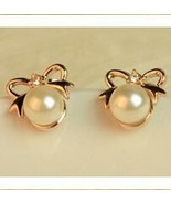 Valentine's Day, Jewelry, Earrings pearl Water Drop - $5.99