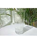 Set of 4 Cristal D'Arques Durand Barcelona Pattern Flat Tumblers - $19.80