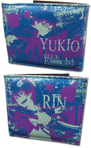 Blue Exorcist: Rin and Yukio Wallet GE2412 NEW! - $19.99