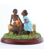 Ebony Visions, First Kiss, by Thomas Blackshear... - $150.00