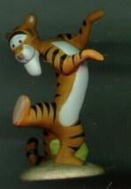 Disney Tigger Winnie Pooh Porcelain Miniature Figurine - $35.31
