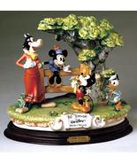 Disney Capodimonte Laurenz Mickey Donald Clarabelle Cow - $1,578.51