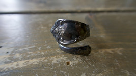 Vintage Size 5.5 Silver Spoon Ring - $9.89