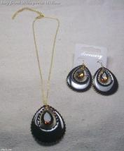 Nicole's Teardrop Topaz Jewelry Set - $16.95
