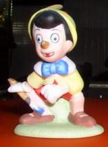 Disney Pinocchio Porcelain Miniature Figurine - $14.19