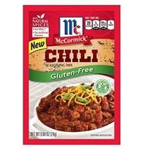 McCormick Gluten Free Chili Seasoning Mix 4 Pack 1 oz Packets - $25.47