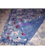 Dalmatians Blue Fleece Baby Pet Dog Lap Blanket - $39.95