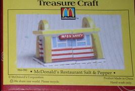 Mc Donald Restaurant  - Salt & Pepper Shaker Set - $32.49