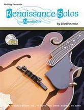 Renaissance Solos For Mandolin Songbook/Standard Notation/TAB - $12.99