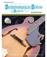 Renaissance Solos For Mandolin Songbook/Standar... - $12.99