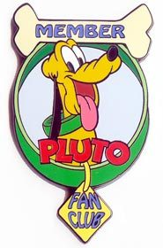 Disney Pluto  dog with bone LE  cute  Auction Pin/Pins