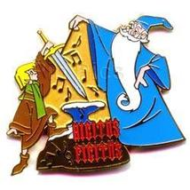 Disney Merlin with Arthur  the sword from the stone pin - $22.99