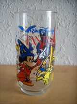 "Disney 1980's Mc Donald's ""Fantasia"" Tall Glass  - $22.00"