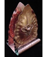 Old Gregorian Hand Hammered Copper Napkin Holder - $9.50