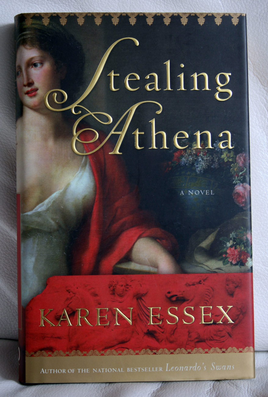 Stealing of Athena by Karen Essex