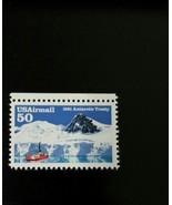 1991 50c Antarctic Treaty Arms Control, 30th Anniversary Scott C130 Mint... - $1.42