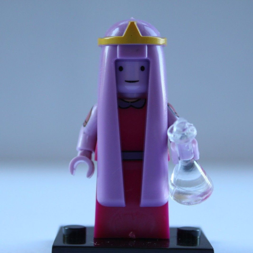 Princess Bonnibel Bubblegum Adventure Time Lego Minifigures Block Toy Gift