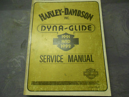 1991 1992 Harley Davidson Dyna Glide Service Repair Shop Manual Factory NEW - $178.15