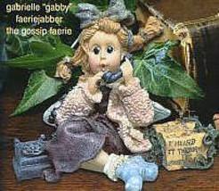 "Boyds Bears*WeeFolkstone...Faeries* ""Gabrielle Faeriejabber"" #36003 *NIB... - $19.99"