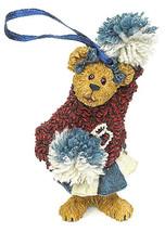 "Boyds Bearstone Ornament ""Sissy Boom Bah"" #257002- 1E- Cheerleader- NIB ... - $12.99"