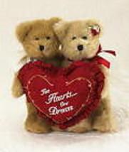 "Boyds Bears""Charlie & Mollie"" #4012912*  8""  Plush Bears*New* 2009 * Retired - $19.99"