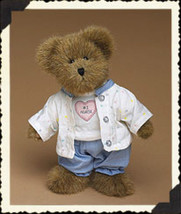 "Boyds Bears ""Nurse Trueheart"" - 8"" Plush Nurse Bear - #903075 -NWT-2004- Retired - $22.99"