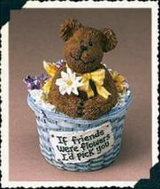 """Boyds Basketbearies """"Flora"""" #24701- NIB- 2003-  Retired - $10.99"""