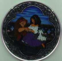 Disney Hunchback of Notra Dame Stained Glass - $96.74