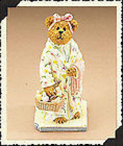 """Boyds Bearstone""""Bubbles Relax-a-Lot"""" Longaberger Exclusive #227797LB- NI... - $32.99"""