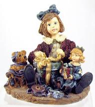"""BoydsDollstone-YesterdaysChild""""Karen w/Wilson & Eloise..MothersPresent""""#3515*NIB - $14.99"""