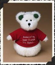 "Boyds Bears ""FLAKEY"" 8"" Plush Snowman Bear-#904361- New- 2004- Retired - $19.99"