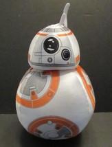 Disney Parks Star Wars BB8 Plush Droid Robot 7 Inch Rotating Head New wi... - $10.09