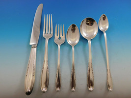 Leonore by Manchester Sterling Silver Flatware Set for 8 Service 52 pcs ... - $1,975.50