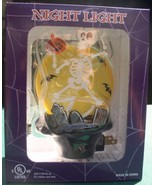 Skeleton Night Light  with RIP Tombstone Halloween - $14.50