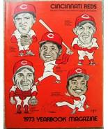 Vintage CINCINNATI REDS MLB 1973 YEARBOOK Magazine ROSE MORGAN BENCH AND... - $198.99