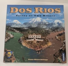 Dos Rios Valley of Two Rivers Board Game Mayfair Games New Factory Sealed - $24.74
