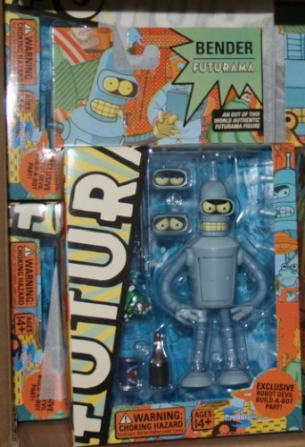 Futurama Bender Robot Devil Build Action Figure