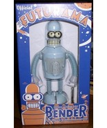 Futurama Tin Wind up Robot Bender Rocket USA - $64.41