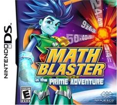 Math Blaster in the Prime Adventure (Nintendo DS, 2009) - $7.13