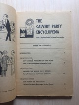 Vintage 1960 House of Calvert Party Encyclopedia- Recipes and Entertaining Book image 3