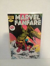MARVEL FANFARE #1 - EARLY 80's - SPIDER-MAN - FREE SHIPPING - $9.50