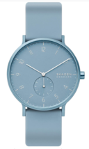 Skagen Aaren Colored Silicone Quartz Minimalistic 41mm Watch - $84.95