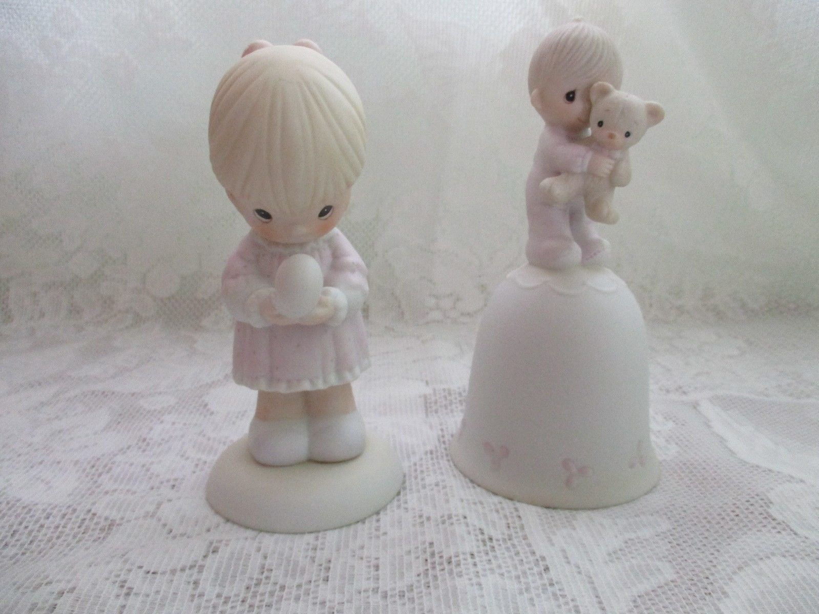 Lot of 2 Precious Moments Figurines - $28.99