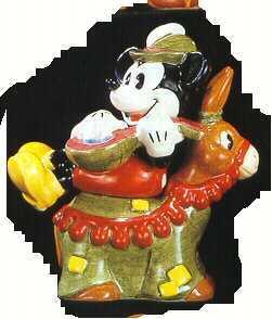 Disney Mickey Mouse Banjo Salt & Pepper