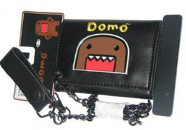 Domo-Kun: Metal Domo Face Wallet with Chain Brand NEW! - $49.99